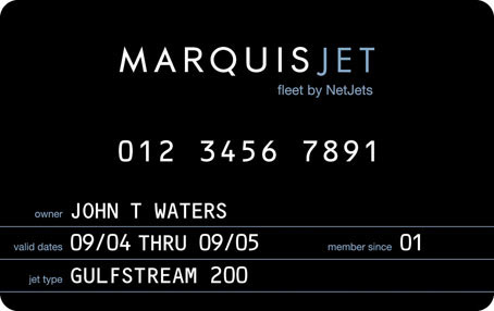 Image result for marquis jet card